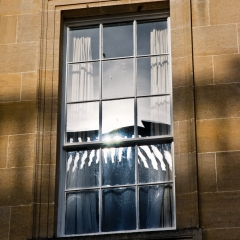balustrade in light & shadow